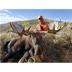 2021 Utah North Slope Summit Bull Moose Conservation Permit