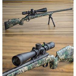 Custom 6.5 PRC plus Leupold Mark-5HD Scope Benefitting Hunts for the Brave