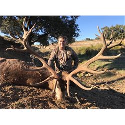 3-Day Iberian Red Stag Hunt for One (1) Hunter and One (1) Non-Hunter