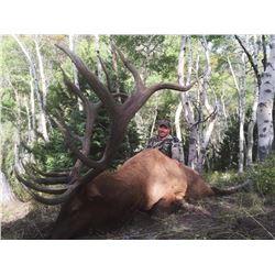 2021 Utah Beaver East, Bull Elk Conservation Permit - Multi-Season