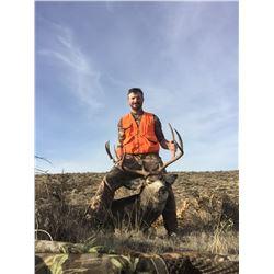 2021 Washington Mule Deer Permit