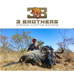 6-Day 7-Nights South Africa Blue Wildebeest, Impala, Blesbok, Sprinkbok Hunt for Four (4) Hunters