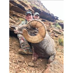 2021 Utah Nine Mile, Gray Canyon Rocky Mountain Bighorn Sheep Conservation Permit, Any Legal weapon