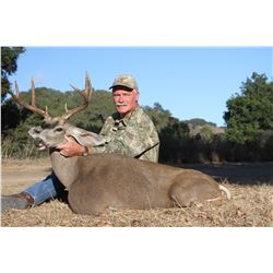 CENTRAL COAST OUTFIT: 4-Day Blacktail Deer Hunt for One Hunter in California - Includes Trophy Fee