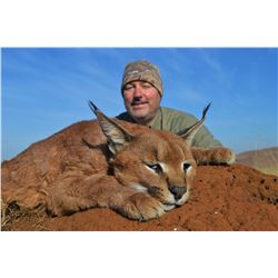 THABA MMOYO: 7-Day Small Predator Hunt for One Hunter and One Non-Hunter in South Africa - Includes