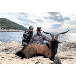 SAFARI INTL: 5-Day Hybrid Kri-Kri Ibex Hunt for One Hunter and One Non-Hunter in Macedonia - Include