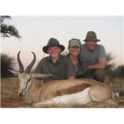 KALAHARI SAFARI:5-Day Plains Game Safari for Two Hunters in Namibia