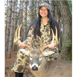 LEGENDS RANCH: 4-Day Whitetail Deer Hunt for One Hunter and One Non-Hunter in Michigan - Includes Tr