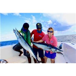 BLUE REEF ADVT: 6-Day/5-Night Sportfishing Adventure for Four Anglers in Southern Belize