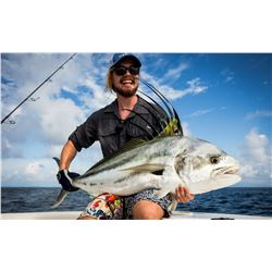 CROCODILE BAY: 5-Day/5-Night Tower Boat and Resort Fishing Getaway for Two Anglers in Costa Rica