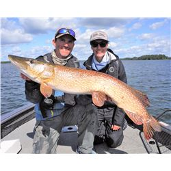 NORTH HAVEN: 4-Day Fishing Adventure for Two Anglers in Manitoba, Canada