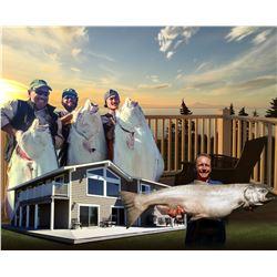 ALASKA SEASCAPE: 4-Day/5-Night Alaskan Fishing Adventure for Four Anglers on the Kenai Peninsula