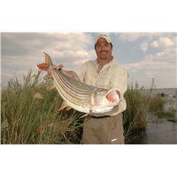 CHIFUTI: 6-Day Luxury Photographic/Fishing Safari Adventure for Four Anglers in Zimbabwe