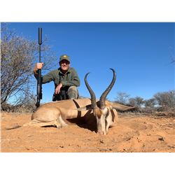 DE KLERK: 7-Day Plains Game Safari for Four Hunters in South Africa - Includes Trophy Fees and Taxid