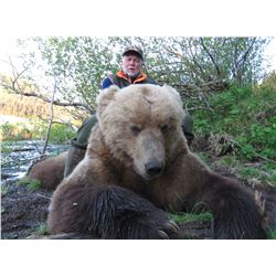 MIKE ODIN: 9-Day Coastal Brown Bear Hunt for One Hunter in Alaska