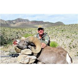 RANCHO LA GUARIDA: 10-Day Desert Bighorn Sheep Hunt for One Hunter and Two Non-Hunters in Chihuahua,