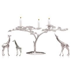 PATRICK MAVROS: Sterling Silver Table Centerpiece by Patrick Mavros