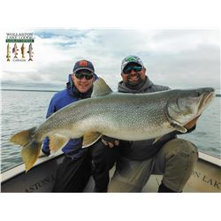 WOLLASTON LAKE: 4-Day Freshwater Fishing Adventure for Two Anglers in Northern Canada