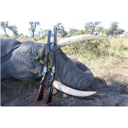 NDUMO: 18-Day Trophy Elephant Hunt for One Hunter and One Non-Hunter in Namibia's Caprivi Strip