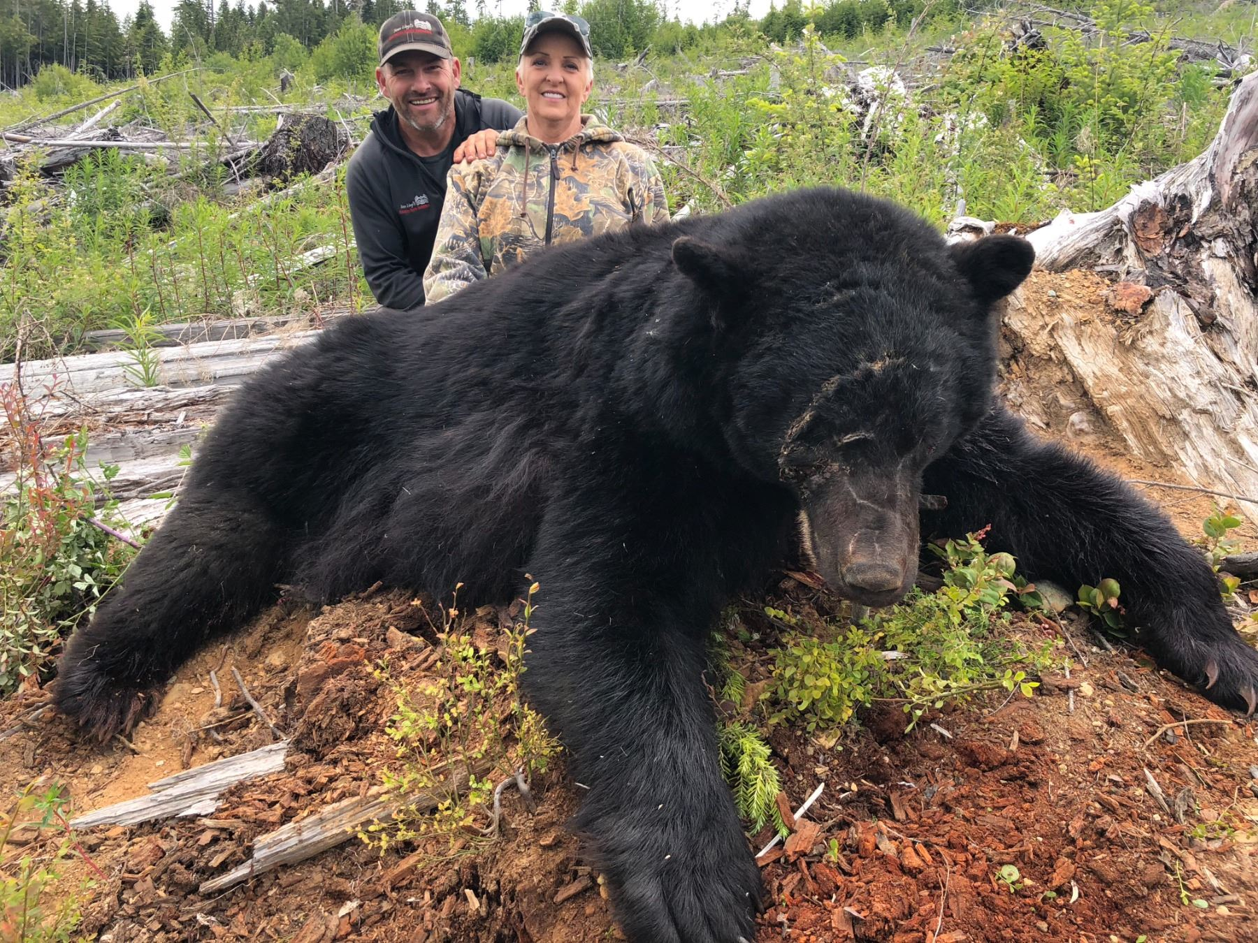 CANADIAN GUIDE: 5-Day Vancouver Island Black Bear Hunt for One Hunter and One Non-Hunter in Canada -