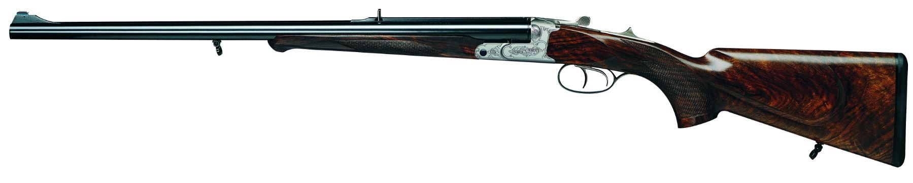 KRIEGHOFF Classic Big Five Double Rifle in .500/416 NE and Hornady Ammunition