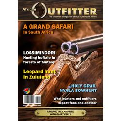 AFRICAN OUTFITTER: Full-Page Color Advert in the January/February 2022 Issue