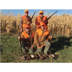 DAKOTA PRAIRIE LODGE: 3-Day/4-Night Pheasant Hunt for Two Hunters in South Dakota