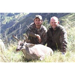 CHAKU PERU: 6-Day Whitetail Deer Hunt for One Hunter in Peru - Includes Trophy Fee