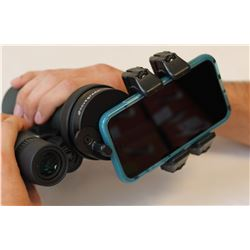 NOVAGRADE: Double Gripper Universal Phone Digiscoping Adapters