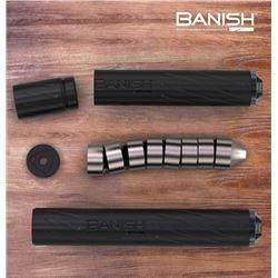 SILENCER CENTRAL: Multi-Caliber Banish 30 Rifle Silencer and Multi-Caliber Banish 45 Pistol Silencer