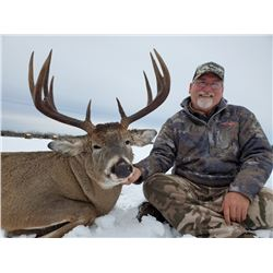 NORTH ALBERTA OUTFITTERS: 6-Day Whitetail Deer Hunt for One Hunter in Alberta, Canada - Includes Tro