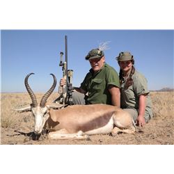 KOWAS ADVENTURE SAFARIS: 5-Day Gemsbok and Springbok Safari for Two Hunters in Namibia - Includes Tr