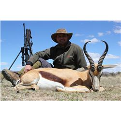 WORMALD HUNTING ADVENTURES: 6-Day Plains Game Safari for Two Hunters in South Africa - Includes Trop