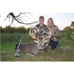 COTTON MESA: 3-Day Whitetail Deer Hunt for One Hunter in Texas - Includes Trophy Fee