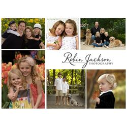 ROBIN JACKSON PHOTOGRAPHY: $500 CERTIFICATE For 11x14 Family Portrait Package