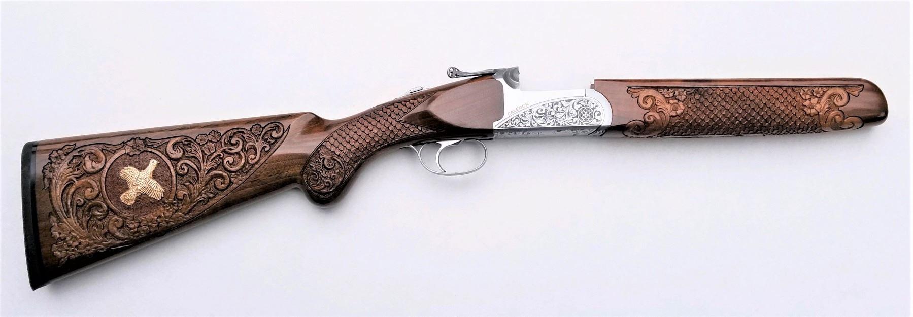 JOSE VALENCIA STUDIO: Custom Gunstock Carving