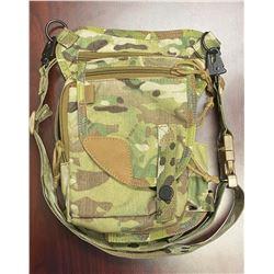 UKOALA BAG: Ukoala Kodiak Bag in Army Green Camouflage