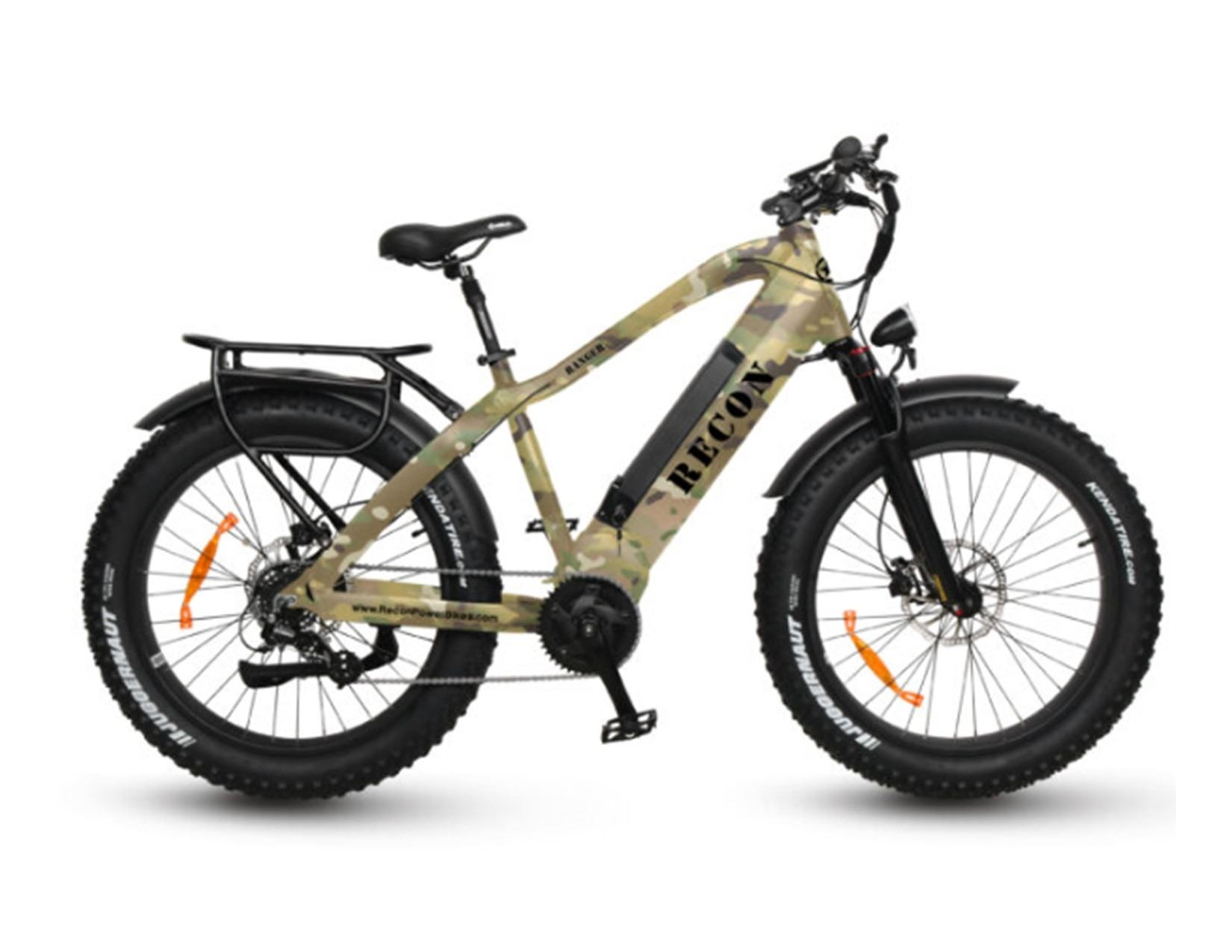 ROCKIN B OUTDOORS: Recon Ranger Power E-Bike with Firearm/Bow Holder