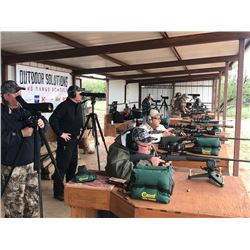 OUTDOOR SOLUTIONS: 2-Day/3-Night Long-Range Shooting School Instruction in Texas, Utah or Michigan