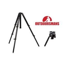 OUTDOORSMAN TALL TRIPOD & PAN HEAD