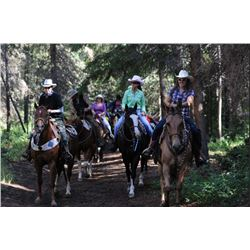 7 - NIGHT ALL INCLUSIVE VACATION ON THE 7D RANCH IN WYOMING WILDERNESS FOR 2 PEOPLE