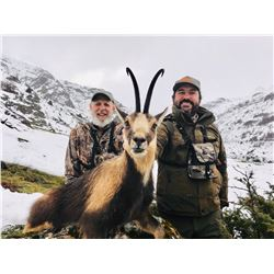4-DAY PYRENEAN CHAMOIS HUNT FOR 1 HUNTER IN SPAIN