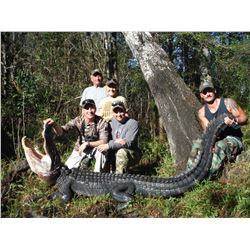 3 - DAY FLORDIA COMBO HUNT. HOG, GATOR AND TURKEY FOR 1 HUNTER & 1 NON-HUNTER