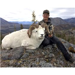 12 - DAY DALL'S SHEEP/WOLF/WOLVERINE HUNT IN THE NORTHWEST TERRITORIES FOR 1 HUNTER & 1 NON-HUNTER