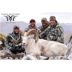 10 - DAY DALL'S SHEEP/ ARCTIC GRIZZLY/BARREN AND GROUND/CARIBOU HUNT FOR 1 HUNTER IN ALASKA'S ARCTIC