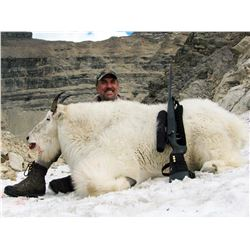 11-DAY MOUNTAIN GOAT HUNT FOR 1 HUNTER IN BRITISH COLUMBIA TERMINUS MOUNTAIN OUTFITTERS