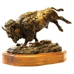 """TH-15 """"Prairie Thunder"""" Bronze by Justin Young"""