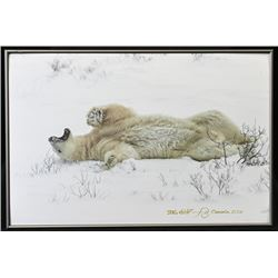 TH-39 Sergey Ivanov Polar Bear Print