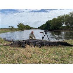 FR-22 Trophy Alligator Hunt, Florida