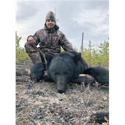 FR-26 Fly-In Black Bear and Wolf Hunt with Fishing, Alberta